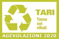 Avviso pubblico: Agevolazioni TARI anno 2020
