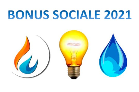 Bonus sociale: GAS, LUCE & ACQUA