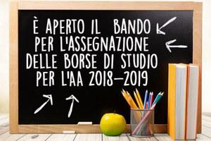 Borse di studio anno 2018-2019 - Comune di POLVERIGI