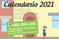 Calendario Porta a Porta 2021